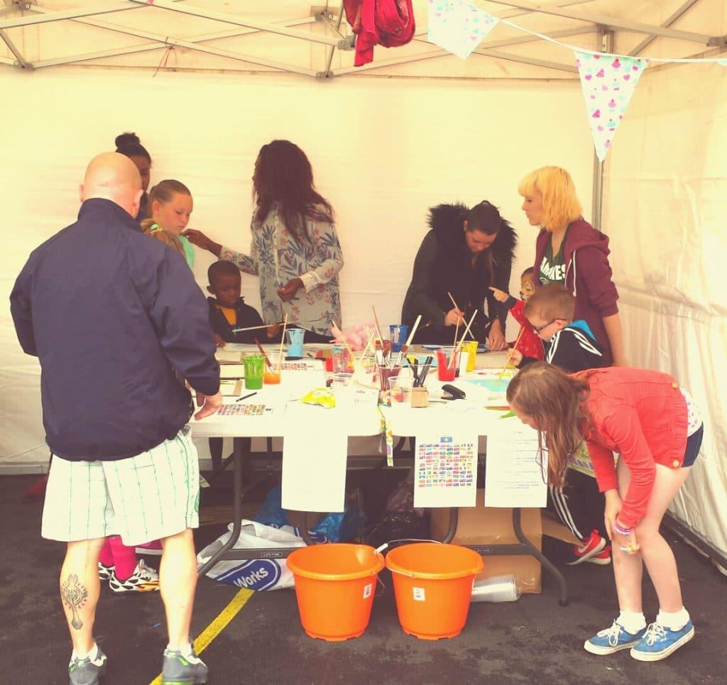 Community fun day projects Glasgow