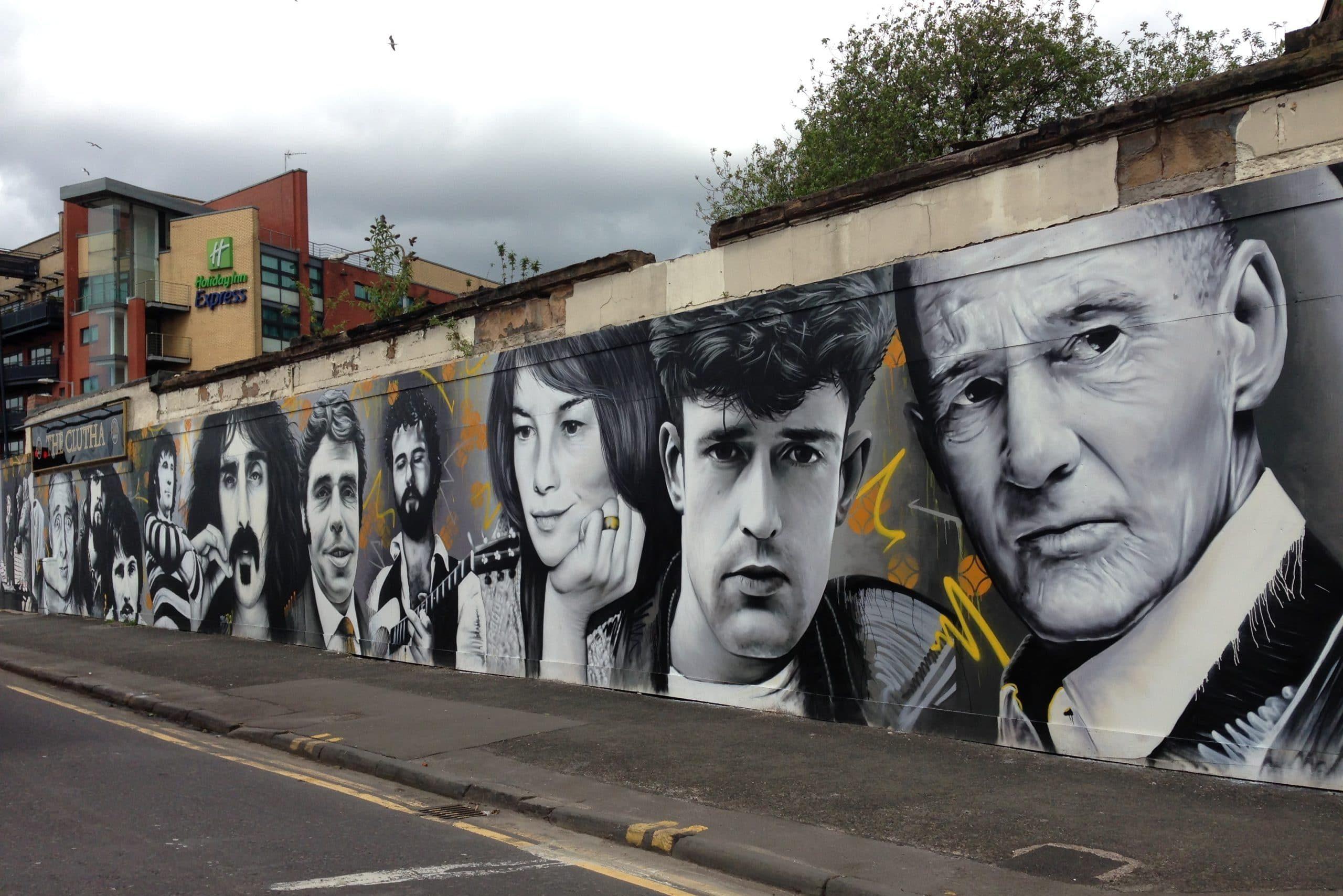 Clutha Mural Glasgow
