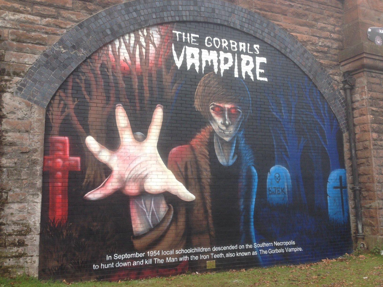 The Gorbals Vampire mural