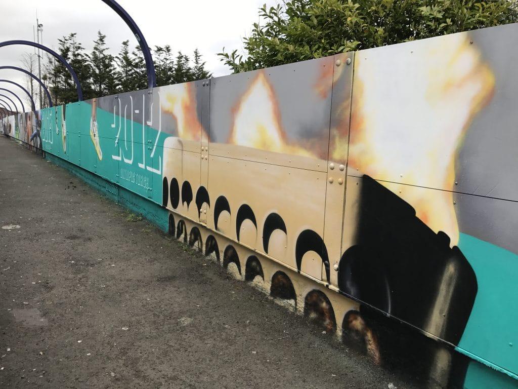 Motherwell street art