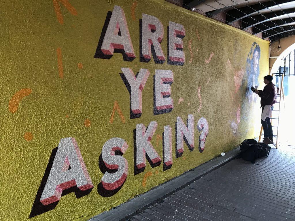 Are Ye Askin mural