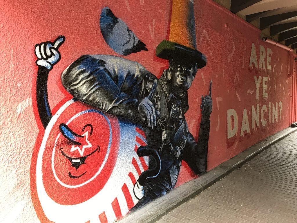 Duke of Wellington mural