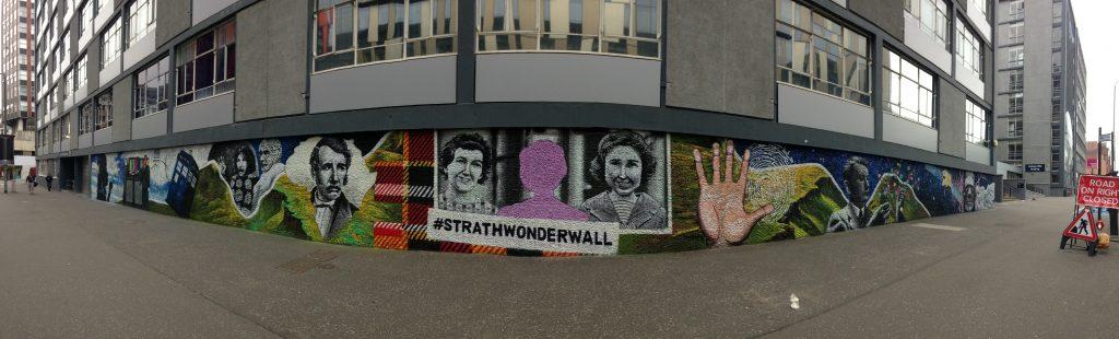 Strathwonderwall street art