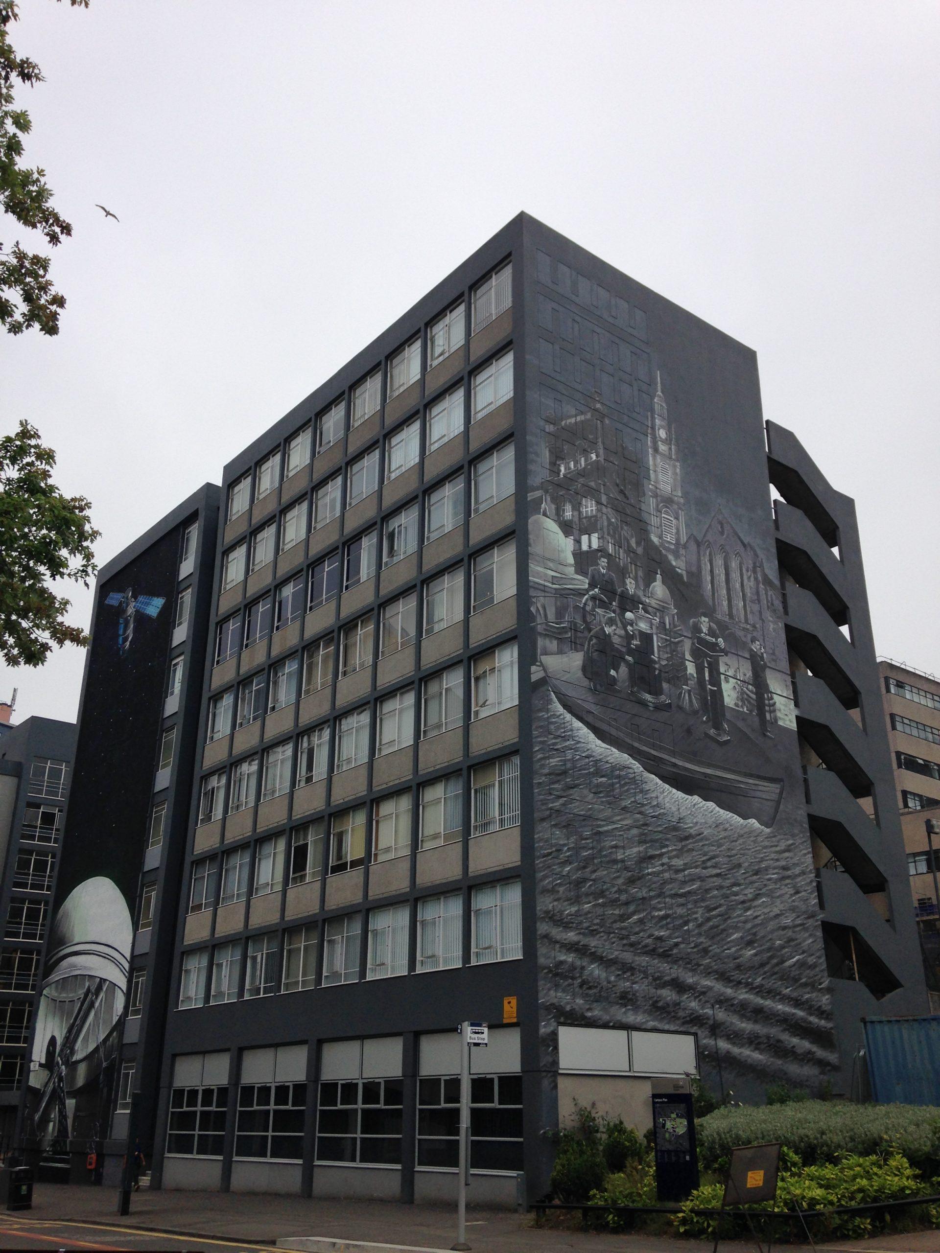 Strathclyde University murals Glasgow