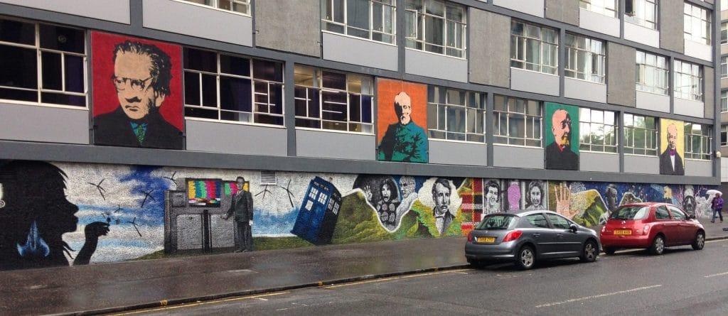University of Strathclyde Wonderwall mural