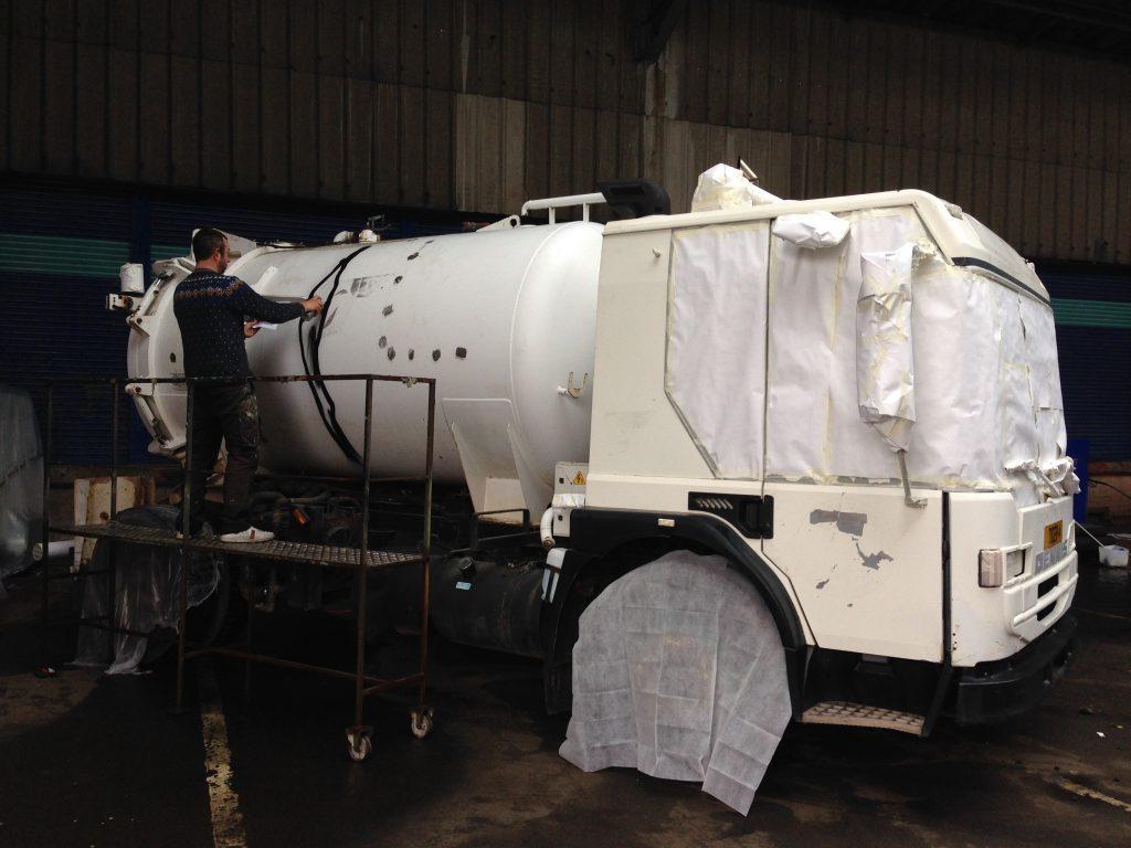 Vehicle custom paint job Glasgow Tigers