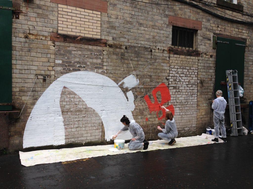 Collective street art