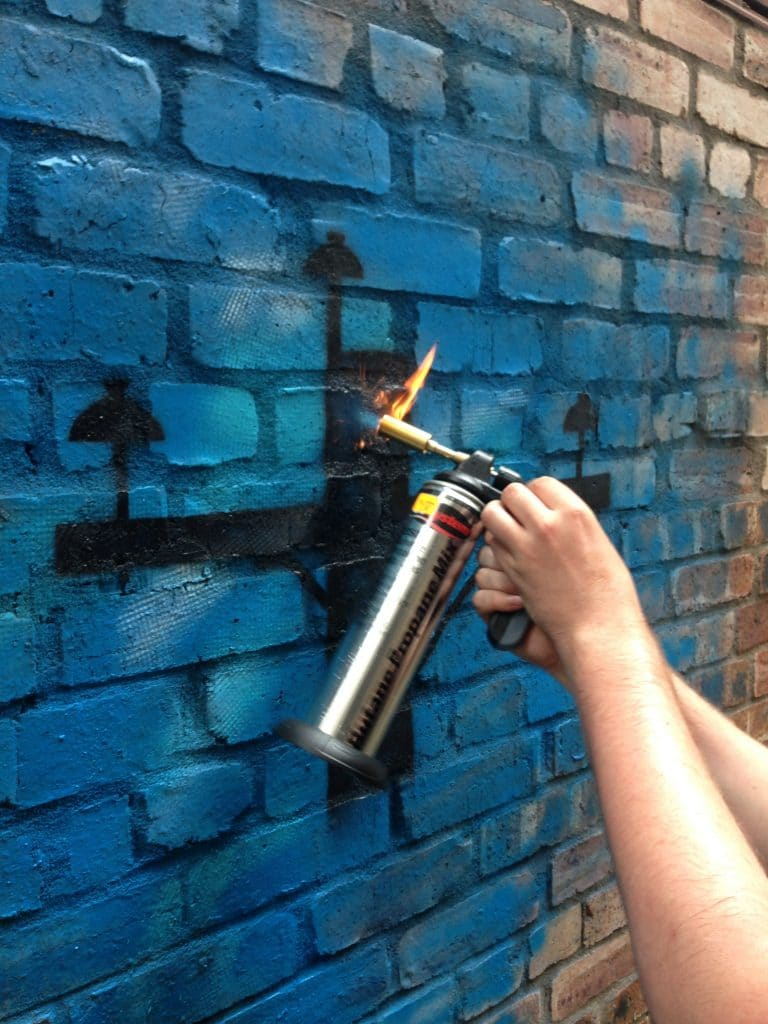Alternative street art