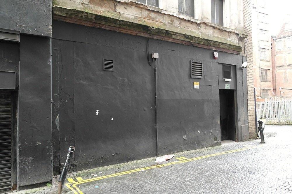 Mitchell Street Glasgow Wall