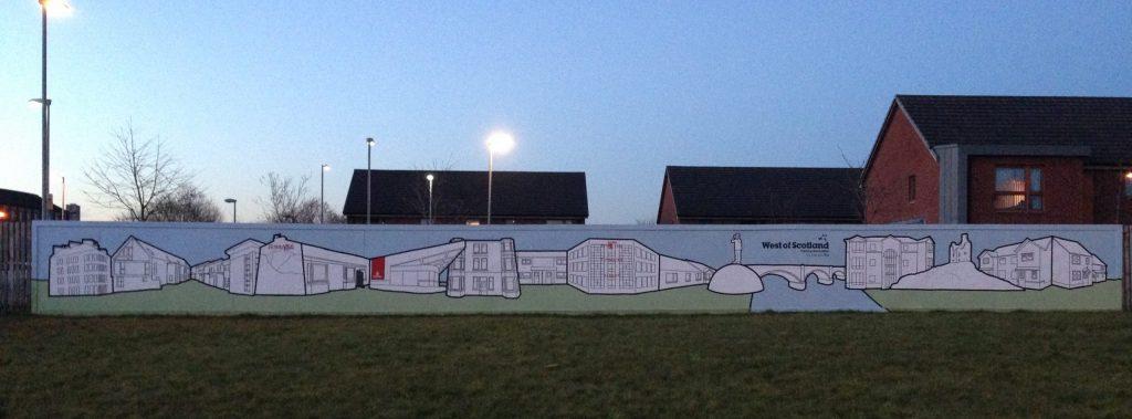Housing association murals
