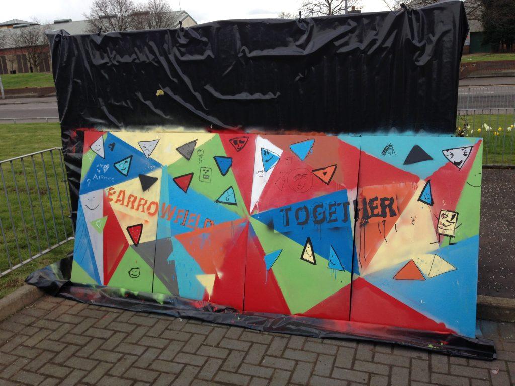 Community art workshops Glasgow