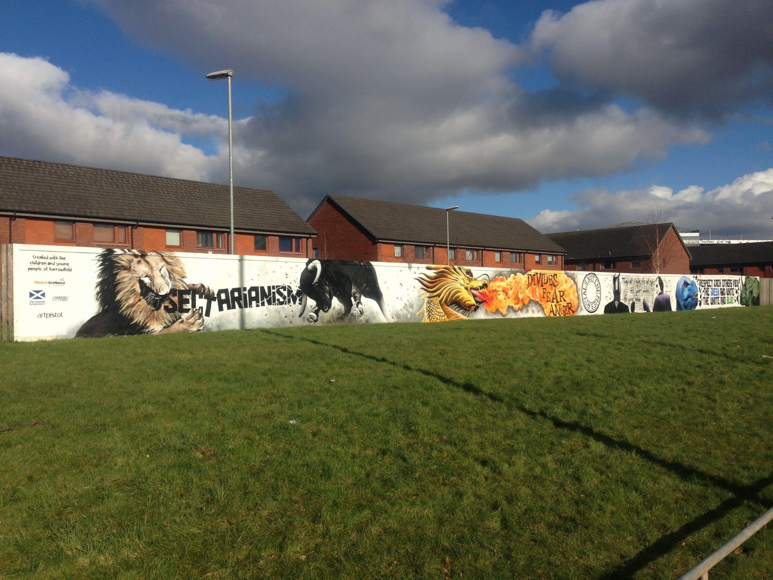 Community murals Glasgow