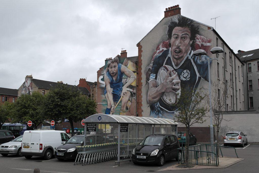 Commonwealth Games murals Partick