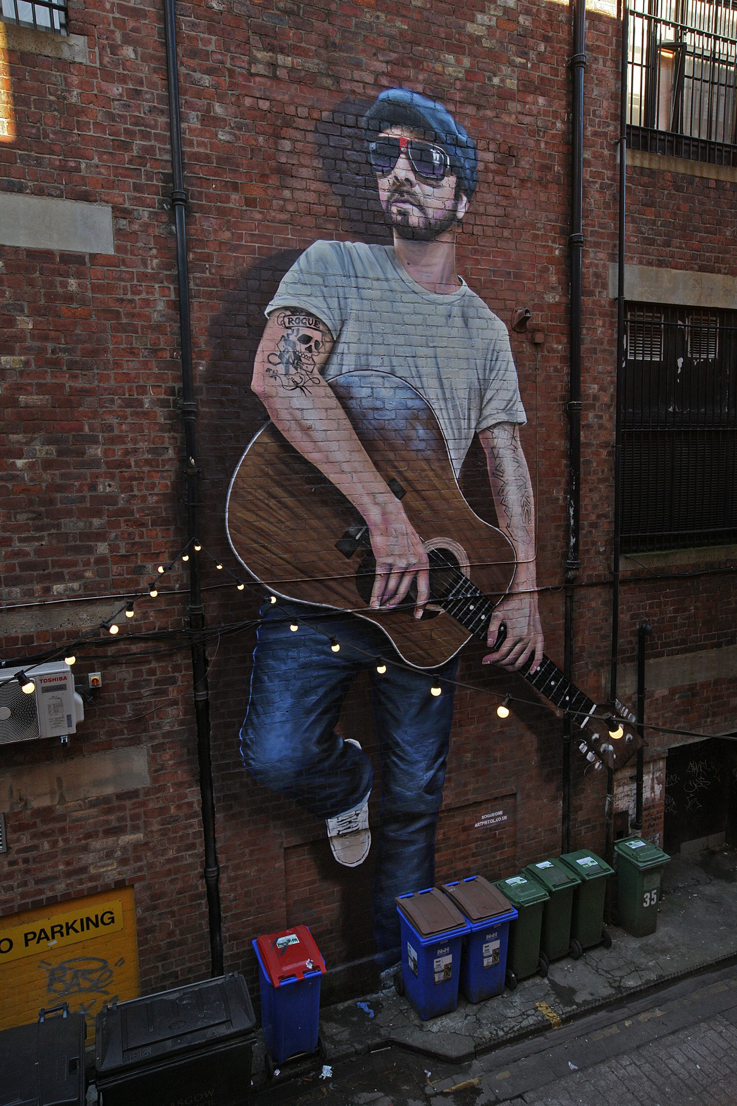 The Musician Mural Sauchiehall Street