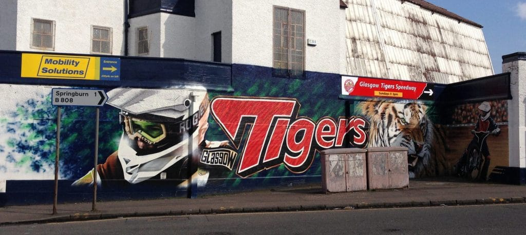 Glasgow Tigers Speedway Mural