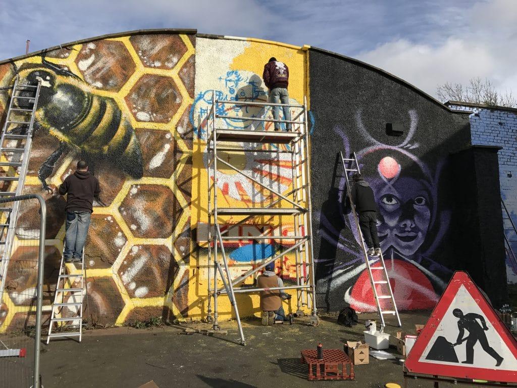 street art Calton Glasgow