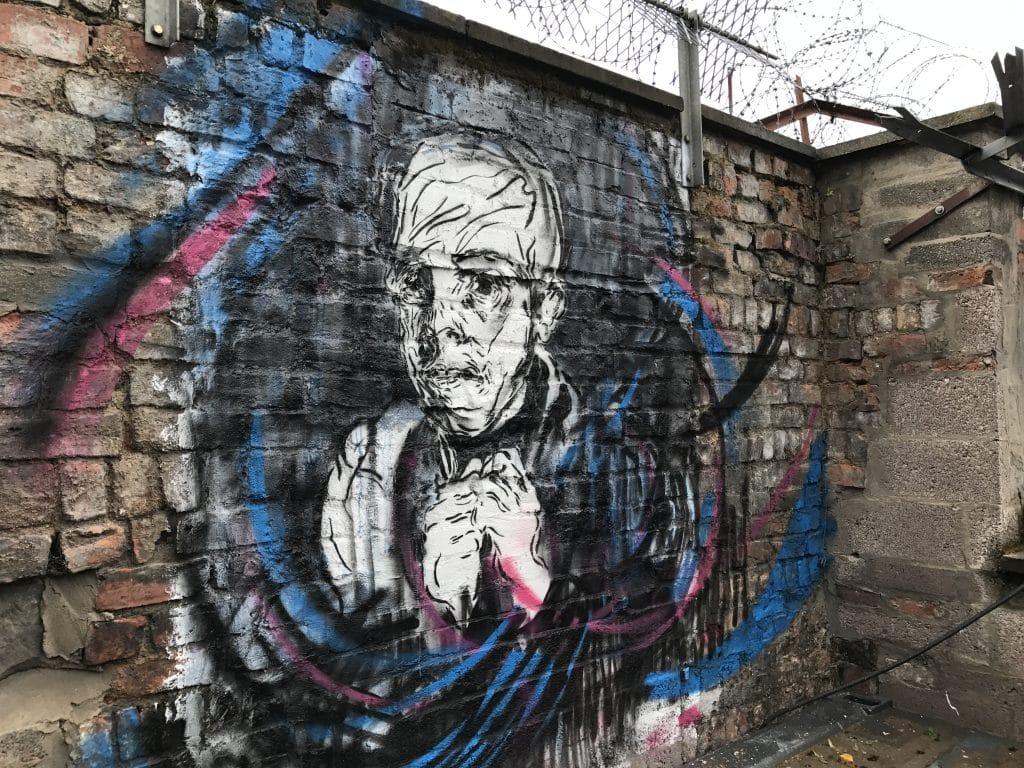 stencil art Glasgow