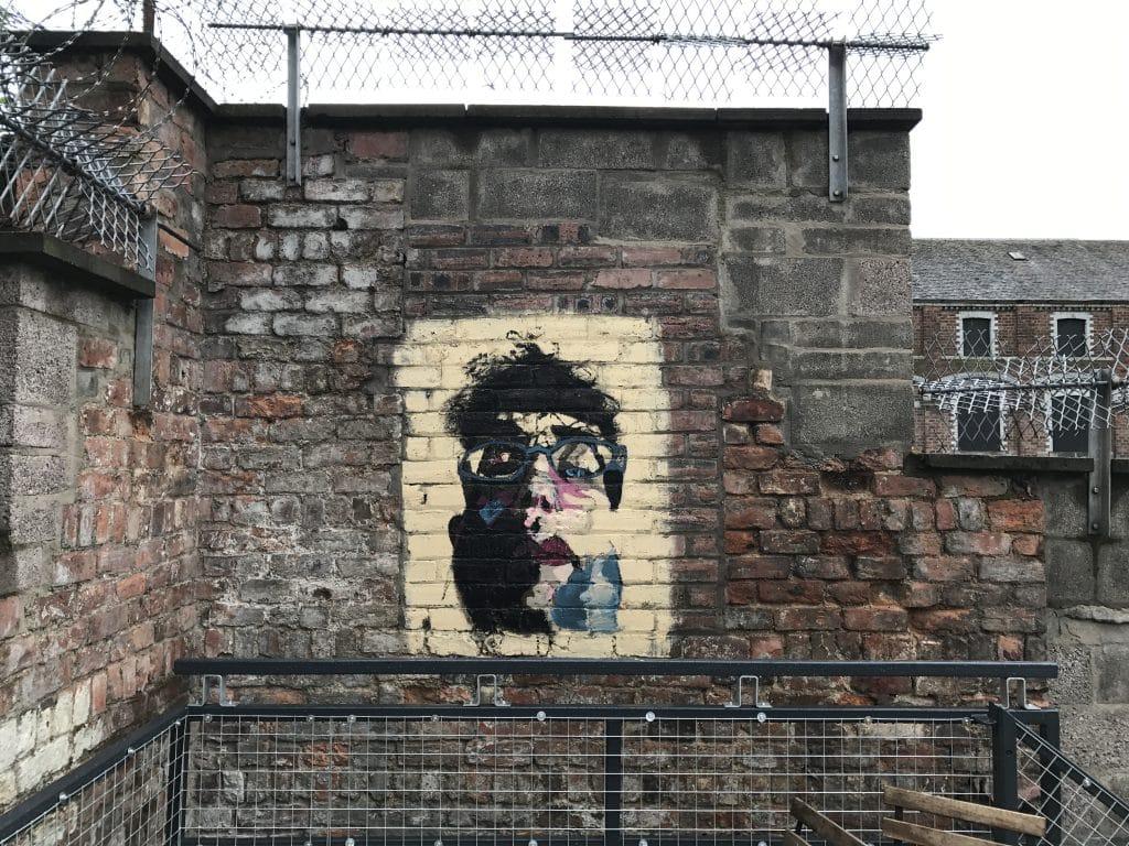 portrait street art