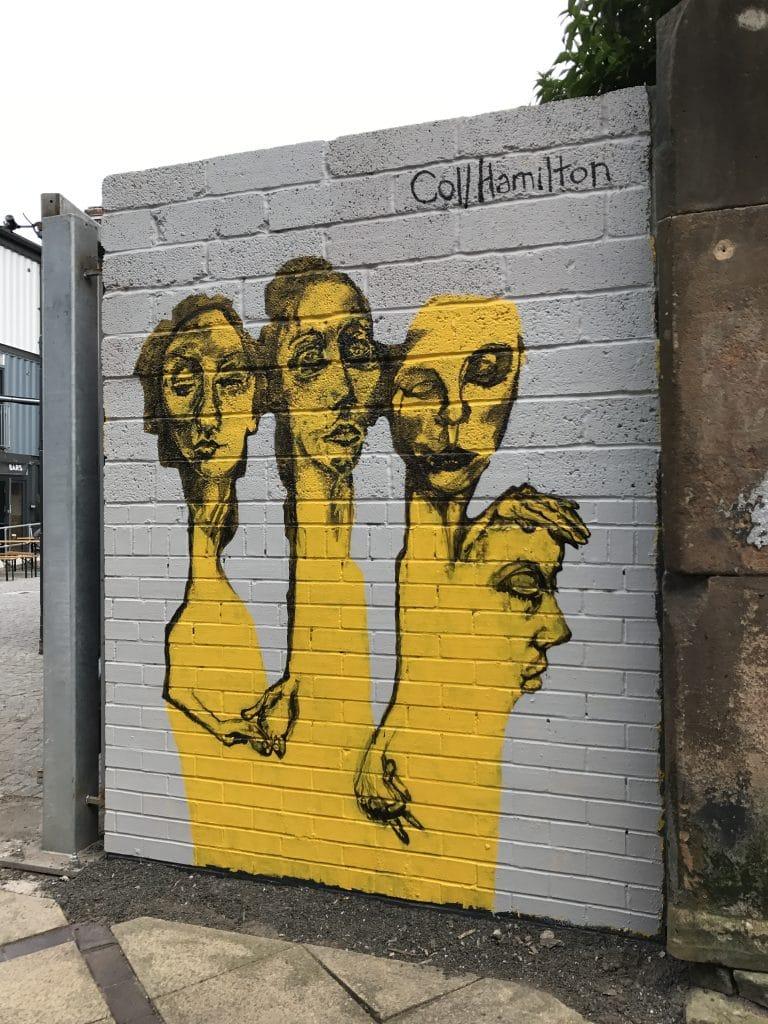 figurative portrait street art