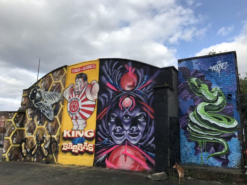 street art east end Glasgow