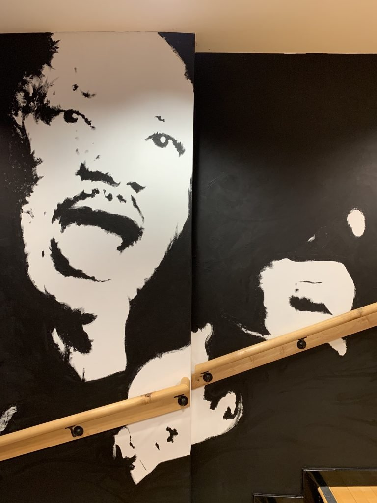 Martin Luther King mural