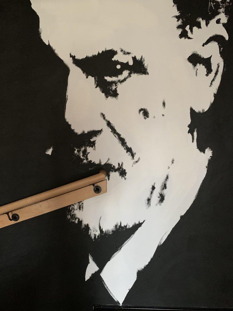 Sigmund Freud mural