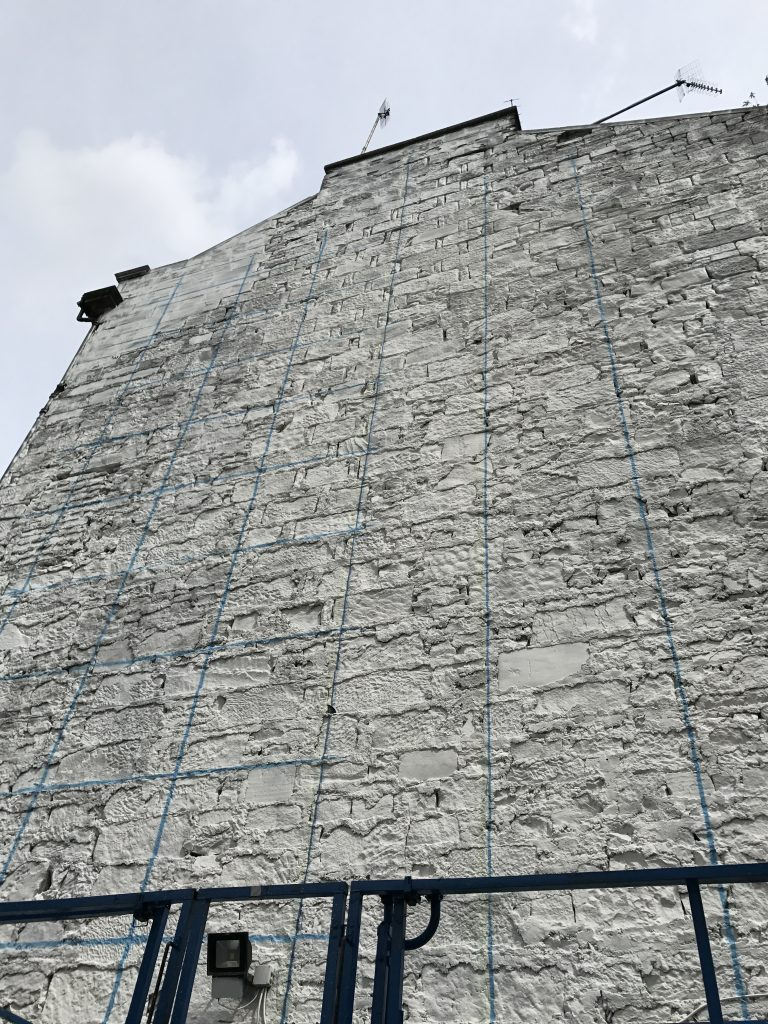 marking up gable end