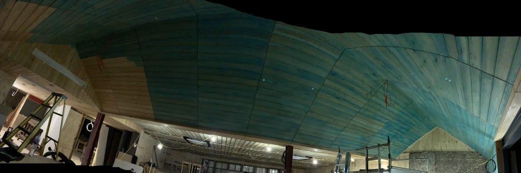 restaurant ceiling colour stain