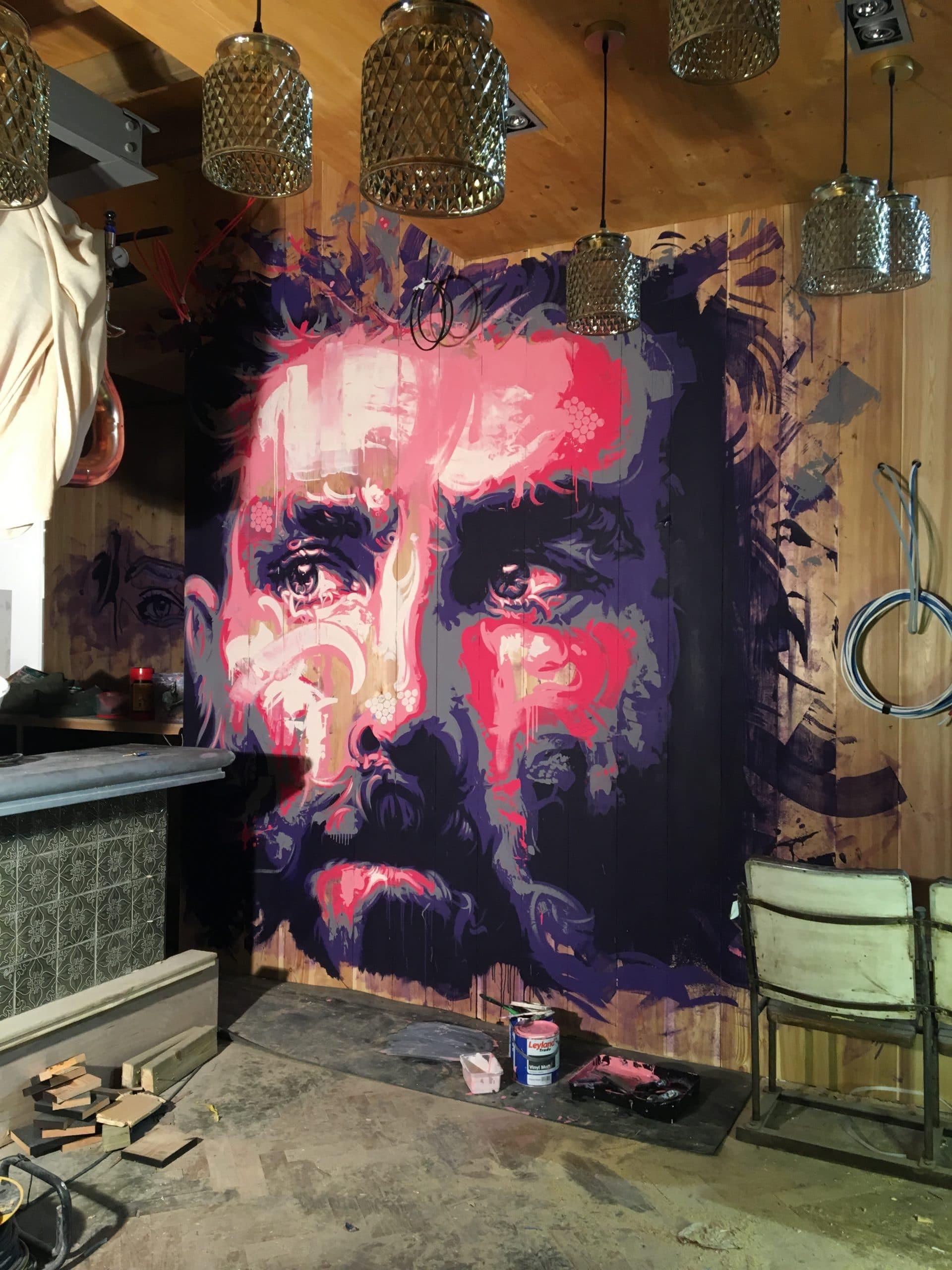 Vics murals Prestwick