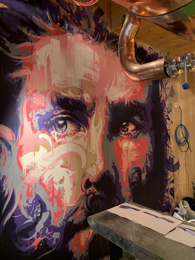 Vics portrait murals