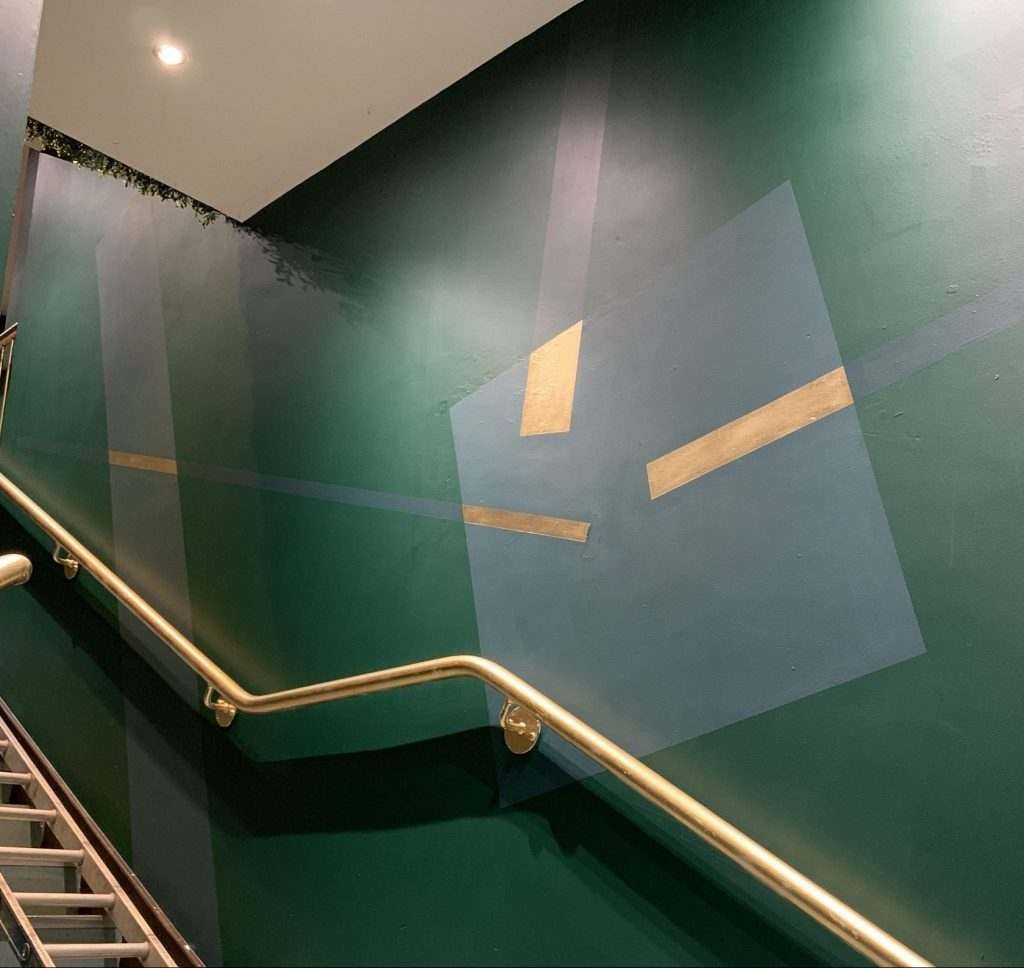 Finsbay Loft mural