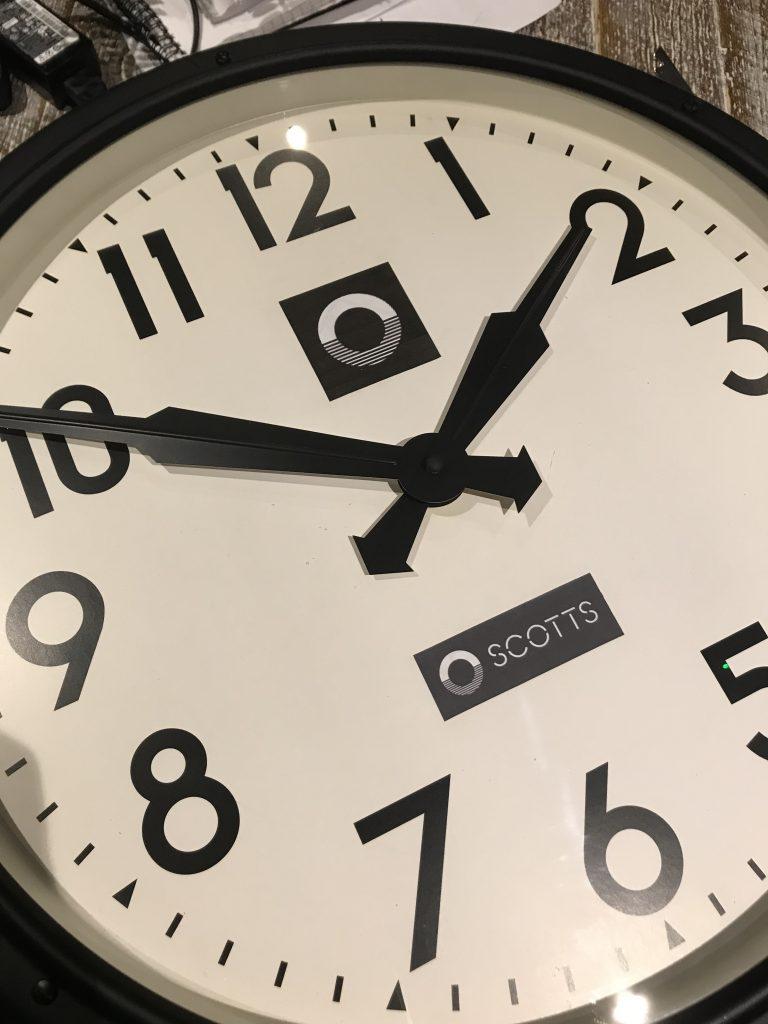 clock customisation