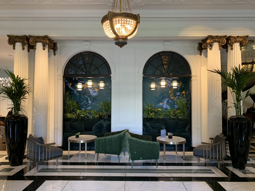 Blythswood Square Hotel mural