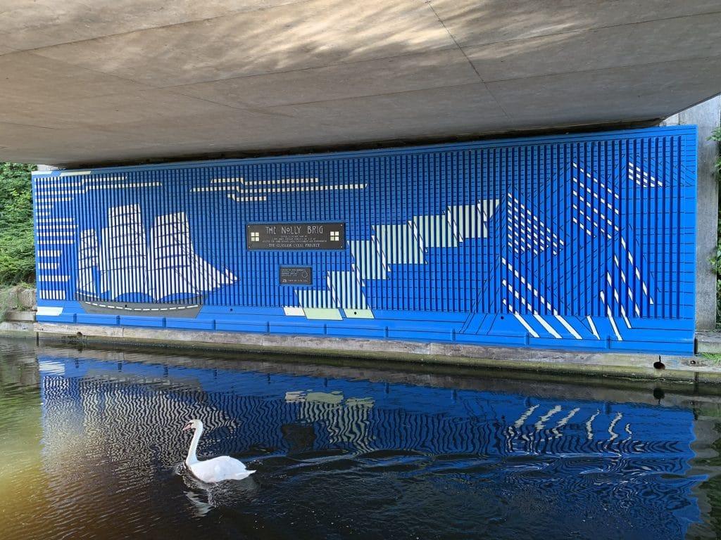 Firhill canal mural