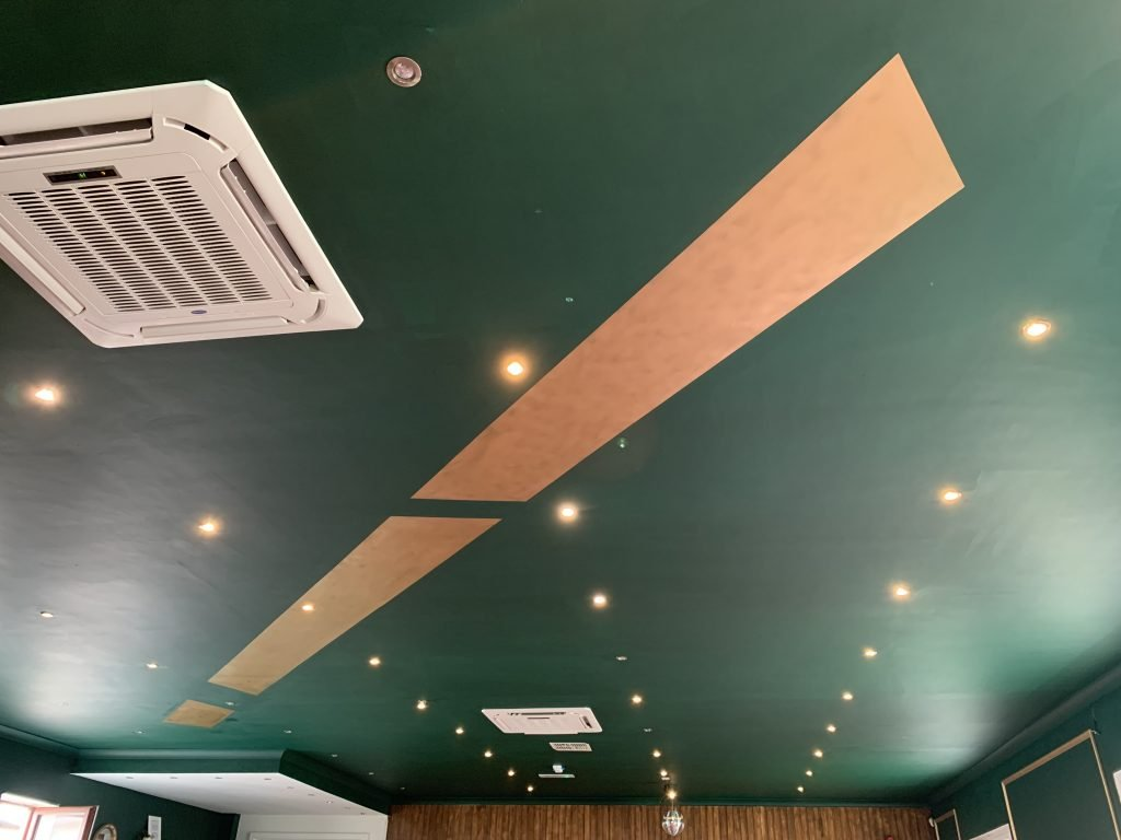 Finsbay Loft ceiling mural