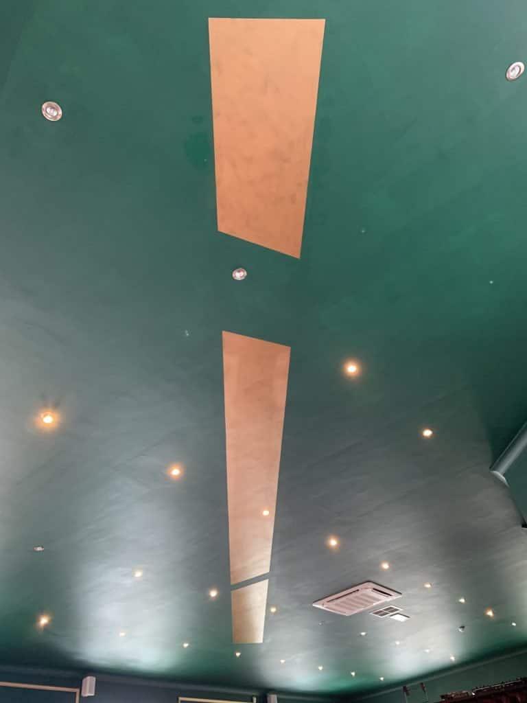 Finsbay Loft ceiling painting