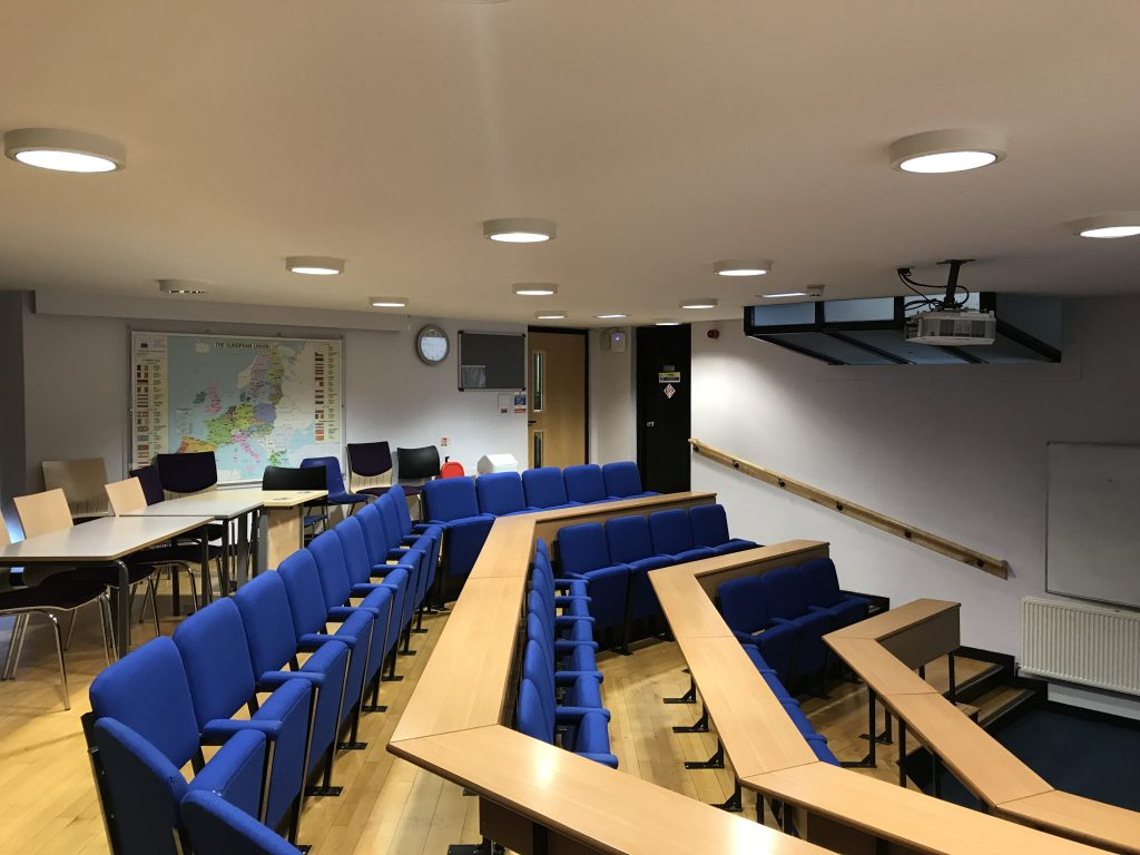 old lecture room