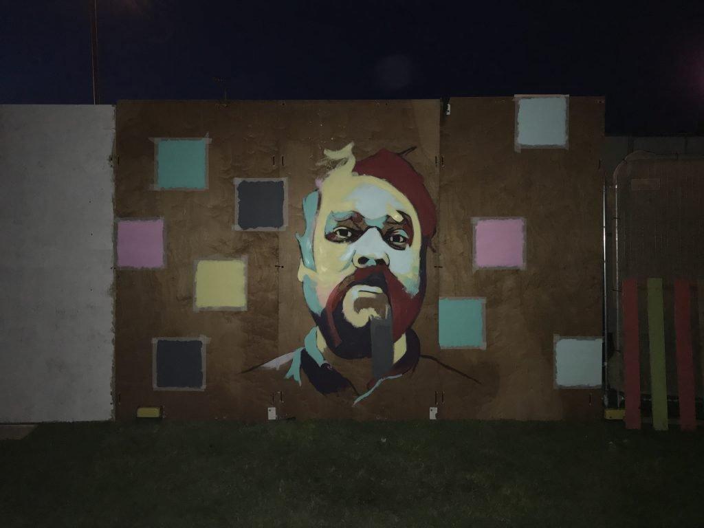 Scott Hutchison mural