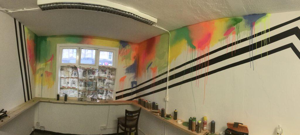 Commercial interior artwork