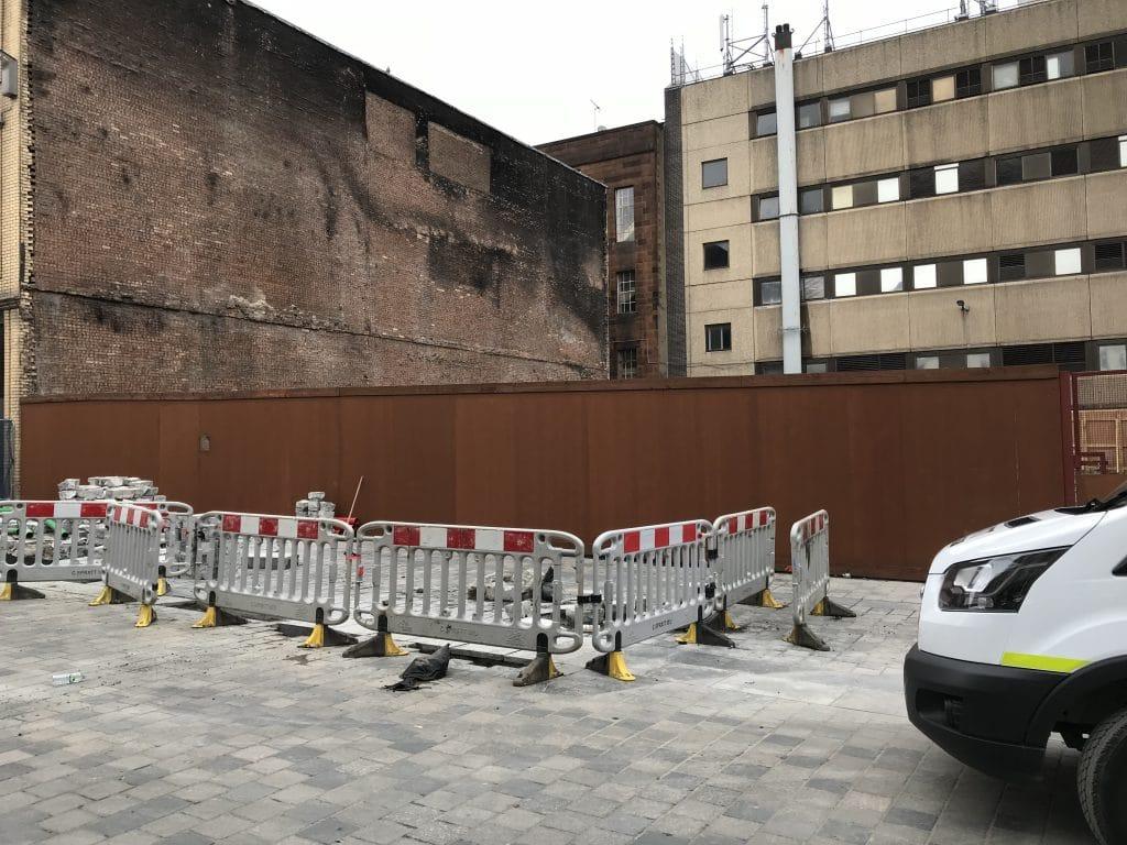 blank hoarding canvas Glasgow