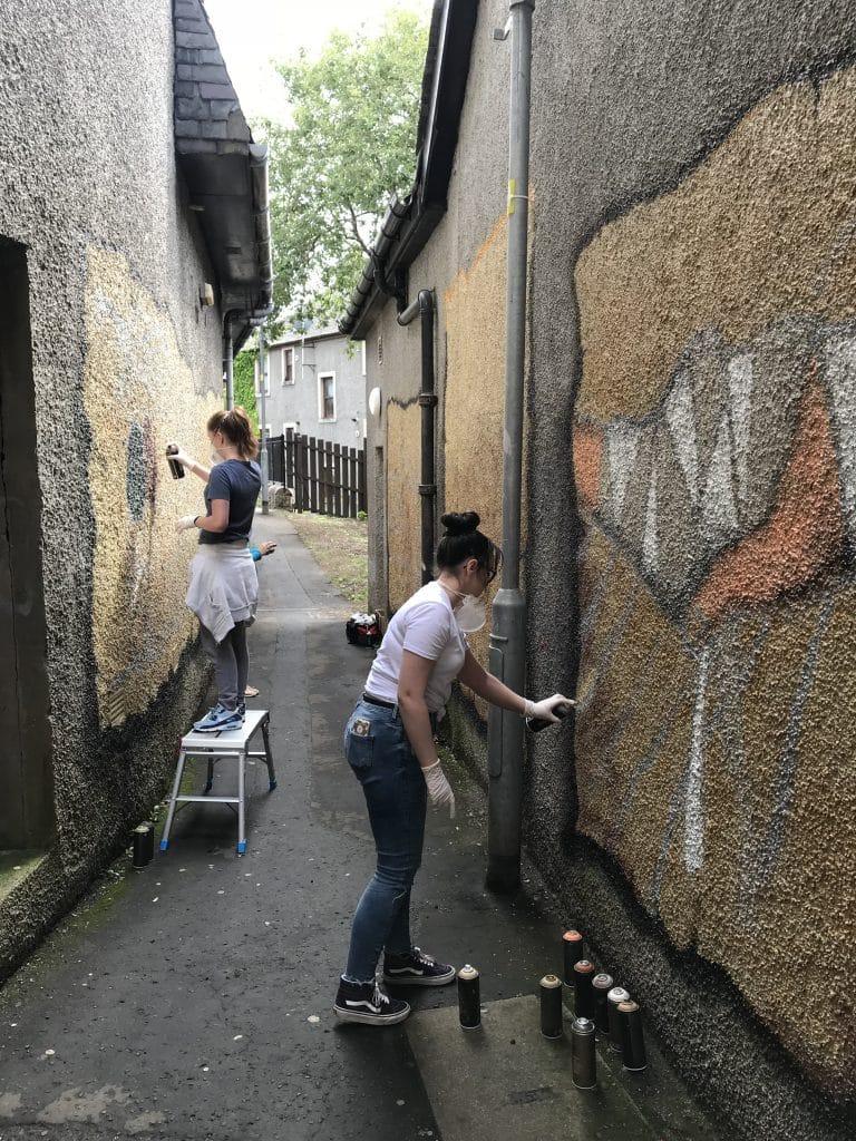 community murals Scotland