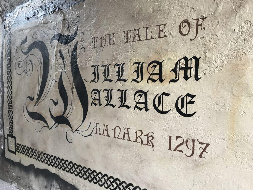 Lanark 1297 mural