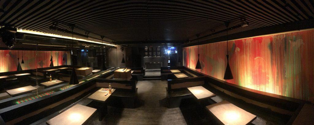 nightclub mural Edinburgh