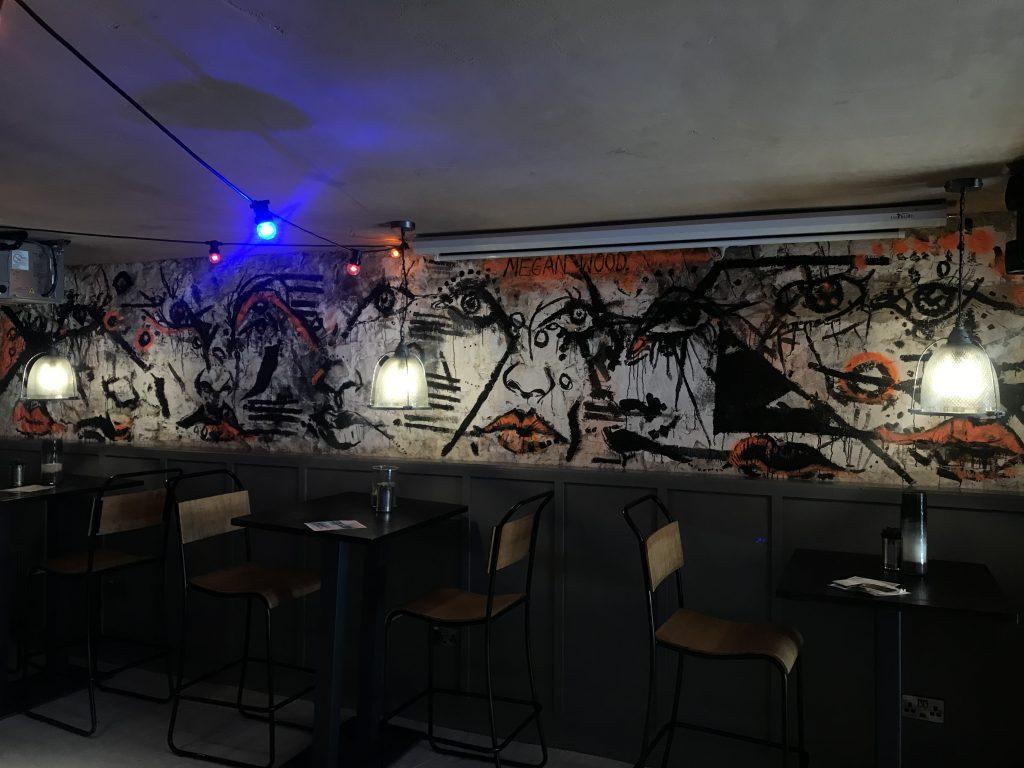 contemporary art mural Edinburgh