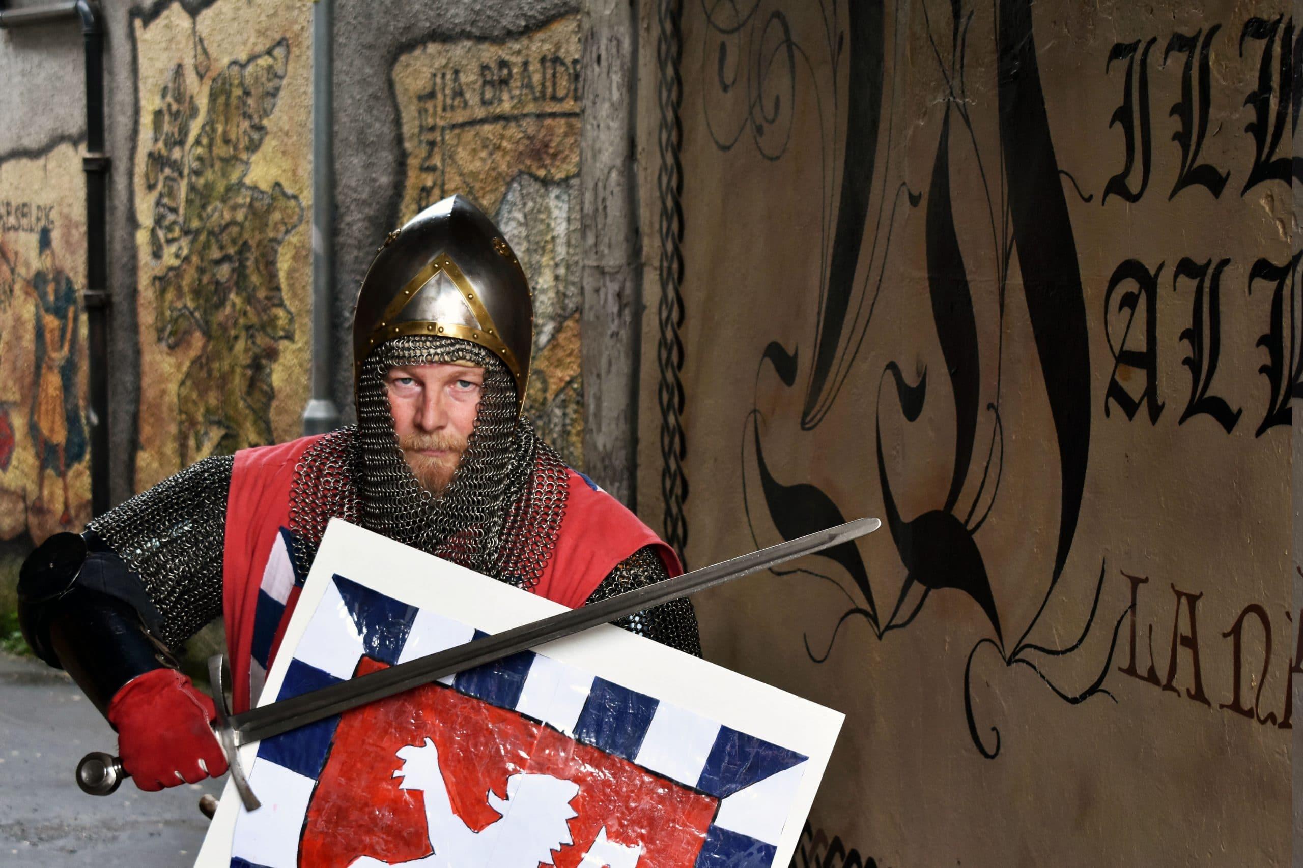 William Wallace mural Scotland