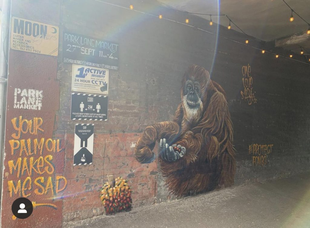 Park Lane Market street art