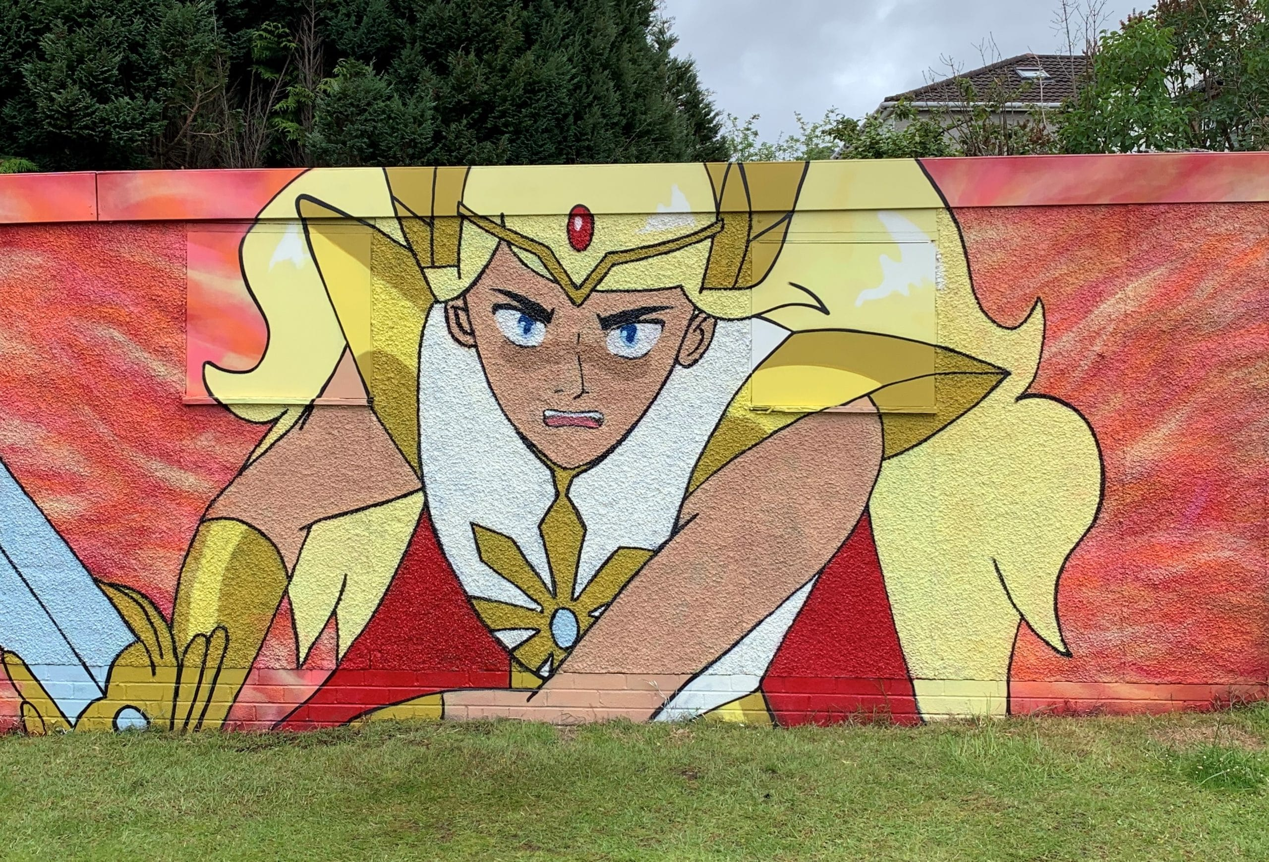 She-Ra Mural